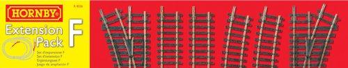 Hornby R8226 00 Gauge Track Extension Pack F