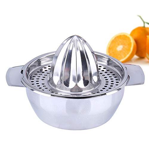 Citrus-peeling (XXTT Manuelle Fruchtsaft multifunktionale Orangensaft Werkzeuge bequem Zitrusfrüchte und Zitronensaft Juicer Mini-Home Strainer Edelstahl Citrus Juicer)
