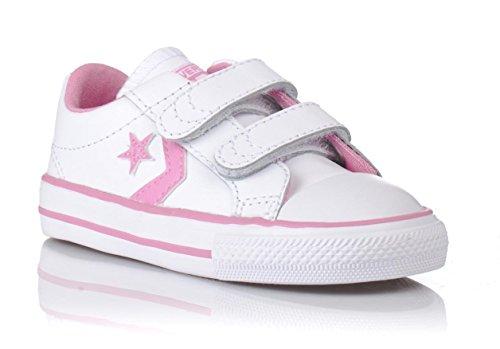 Converse, Star Player EV2, Sneaker, Unisex - bambino Bianco (bianco)