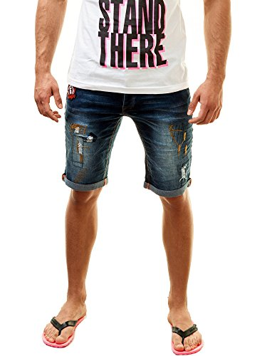Different Uomo Jeans Pantaloni Blu