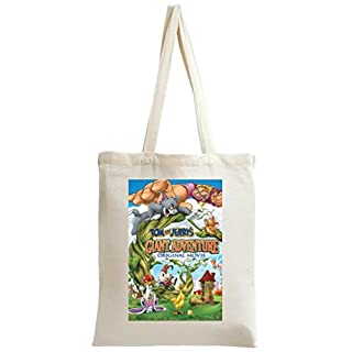Tom And Jerry Giant Adventure Movie Tote Bag