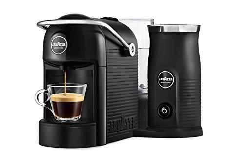 Lavazza A Modo Mio - Jolie & Milk - Cafetera con espumador de Leche Negro
