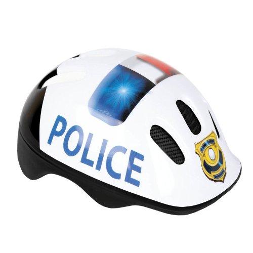 Fahrradhelm Spokey Police Schutzhelm ideal für Kinder Skating Kinderhelm mit Muster leichtes Radhelm Zertifikat ()