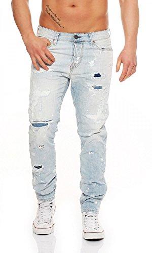 JACK & JONES -  Pantaloni sportivi  - Uomo Blau 30W x 34L