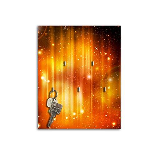 Portachiavi da parete con design Orangener Stella Shimmer chiave Board Ganci Portachiavi sb477