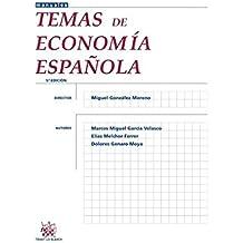 Temas de economía española 5ª Edición 2013 (Manuales de Economía Social)