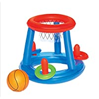 """Soddisfare:A: Nylon mesh, progettato per l'uso in acqua, tra cui un 41 cm (pallavolo 16 """"B: rete in nylon, progettata per l'uso in acqua, compresa una pallaC: progettato per l'uso in acqua, tra cui una palla e tre anelliD: materiale in..."""