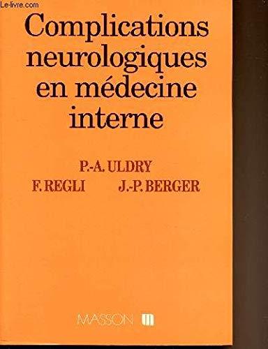 Complications neurologiques en medecine interne