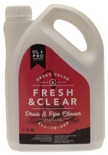 OLPRO OL406 Pipe Flush, 2 Liter Test