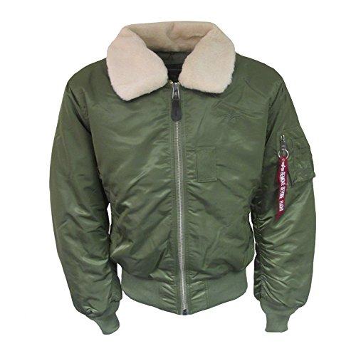 Alpha Industries B15 Jacke sage green