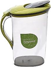 Nayasa Superplast Plastic Icon Jug 2.1 Litre, Green