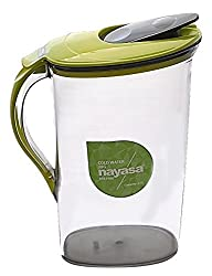 Nayasa BPA Free 2 ltr Cold Water/Juice Unbreakable pitcher jug (green)