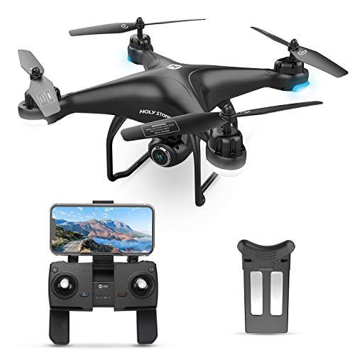 Holy Stone HS120D GPS Drone avec Caméra 1080P WiFi FPV, Avion GPS Retour à la Maison, Vol de...