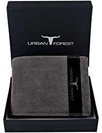 Urban Forest Oklahoma Dark Brown Mens Leather Wallet