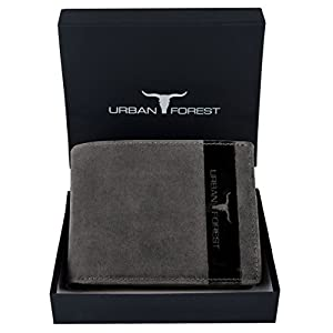Urban Forest Oklahoma Dark Brown Leather Wallet for Men Best Online Shopping Store