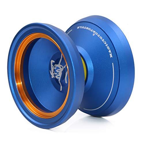 Magicyoyo M002 April Nicht reagierendes Yoyos Fortgeschrittenes Yo-Yos Professionelles Jojos Kit Metall Jo-jo für Kinder Geschenkspielzeug Blau