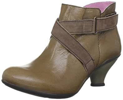 Fly London Women's Fulv Sludge/Brown Ankle Boots P142497000 5 UK