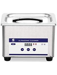 SKYMEN Limpiador Ultrasonidos Profesional 800ML Limpiador Gafas Ultrasonico con Función de Tiempo Ajustable 0-30Munitos