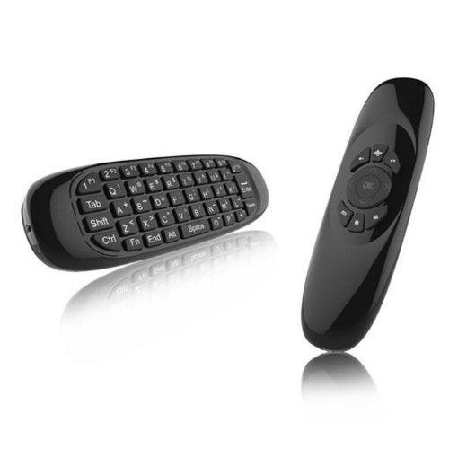 Bluebeach 2.4GHz Mini portatile senza fili completa chiave di 10m Remote Keyboard tastiera Somatic gioco Impugnatura per la TV BOX Tablet PC Air Mouse