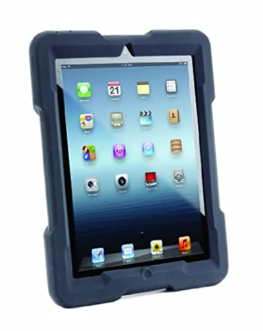 Kensington BlackBelt™ 3. Dan Robustes Case für iPad® der 4. und 3. Generation & iPad 2 - Tablet-Schutzhüllen (Abdeckung, Grau, Kautschuk, Apple, iPad, Staubresistent, Kratzresistent)
