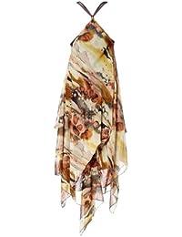 APART Damen-Kleid Chiffon-Zipfelkleid Mehrfarbig Größe 38
