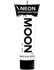 Moon Glow – Peinture fluo UV blanc visage & corps 12 ml