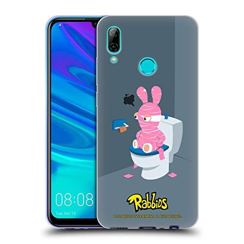 (Head Case Designs Offizielle Rabbids Halloween Darsteller Kunst Soft Gel Hülle für Huawei P Smart (2019))