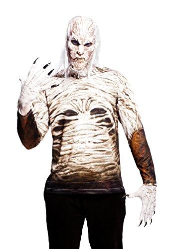 viving Kostüme viving costumes230013Walker Man Long Sleeve T-Shirt - Halloween-kostüme Funny Wicked