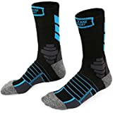 Azani Performance Cushioned Socks - Dri-fit, Protective Sport Cushion Athletic Socks