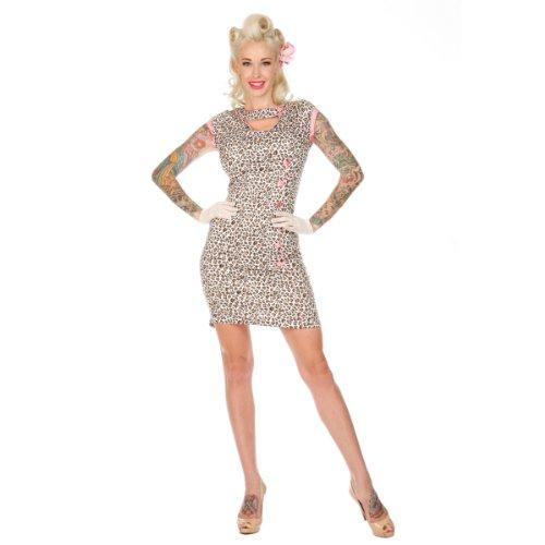 Voodoo Vixen Kleid DRA2117 leopard S