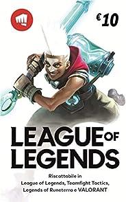 League of Legends €10 Buono regalo | Riot Points | VALORANT Points