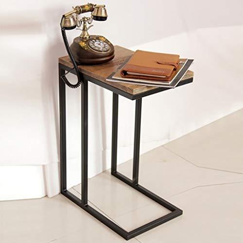 GZLL Over Bed Table C-förmiger Tisch Laptop-Halter Sofa Side End Table End Stand Schreibtisch Kaffeefach Beistelltisch Notebook Tablet Neben dem Bettsofa Tragbare Workstation for kleinen Raum -