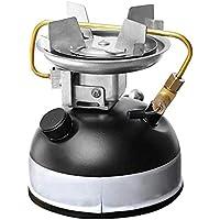 Easy-topbuy Estufa de Gasolina de Cámping Portátil, Acero Inoxidable, Volumen de 500mL