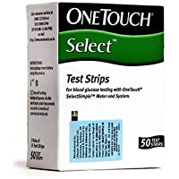 OneTouch Select Test Strips - 50 Counts