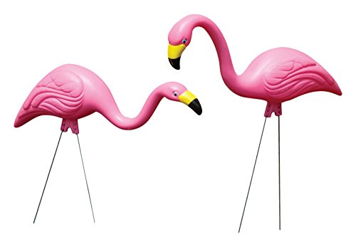 Bloem Pink Flamingo Garden Yard Statue 2er Pack (G2)