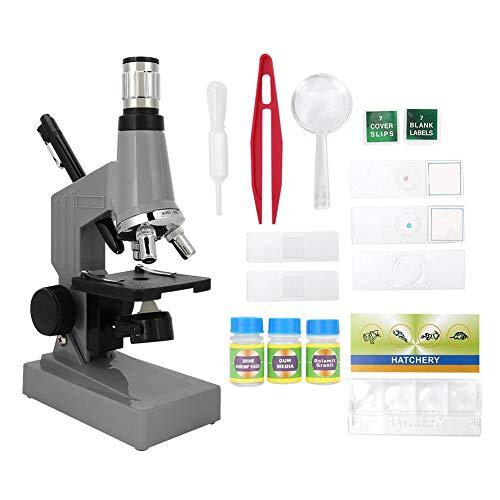 Alomejor Microscope Student 1200X Microscopio biológico