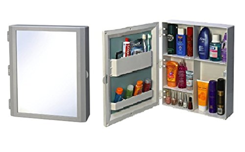 [Sponsored]PAffy Flora Multipurpose Bathroom Mirror Cabinet - Color - White With 1 Year Warranty