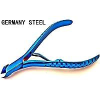 Germania curva in acciaio titanio cuticola pinza