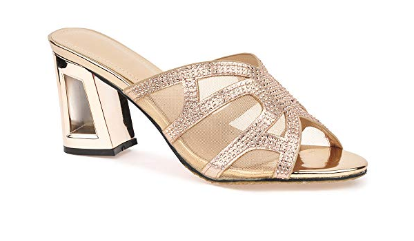 Mules Sandals 345678 (Rose Gold