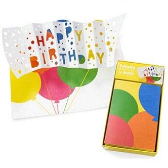 MoMA Sabuda Pop-Up Karte Happy Birthday (Sabuda Popups)