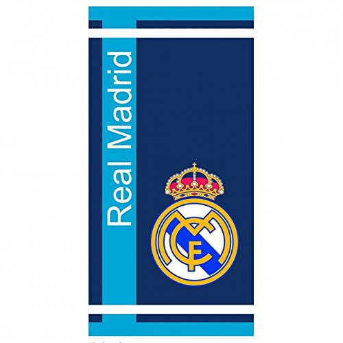 TOALLA REAL MADRID TERCIOPELO ESTAMPADA