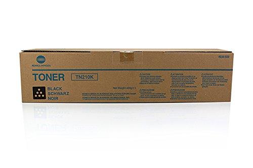Konica Minolta Bizhub 250 (Konica Minolta tn-210K Toner Laser 20.000Seiten schwarz-Tonerkartuschen und Laser (schwarz, Konica Minolta Bizhub C250Konica Minolta Bizhub C250P Konica Minolta Bizhub C252, 1Stück (S), Laser Toner, 20.000Seiten, Laser))
