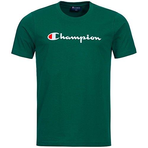 Champion Mix–Maglietta da uomo Bianco - verde L
