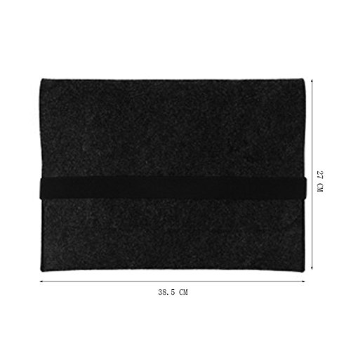 Moollyfox Custodia Per 11/13/15 Pollici Laptop Sleeve Felt Busta Copertura Esercito Verde