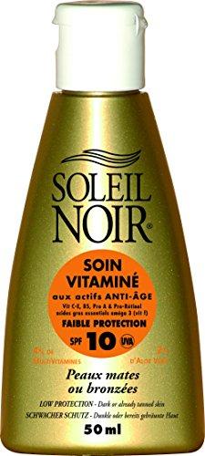 SOLEIL NOIR 35 Soin Vitaminé 10 Protection Faible