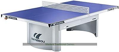 Cornilleau 510 - Mesa de ping pong rígida para exterior, color azul