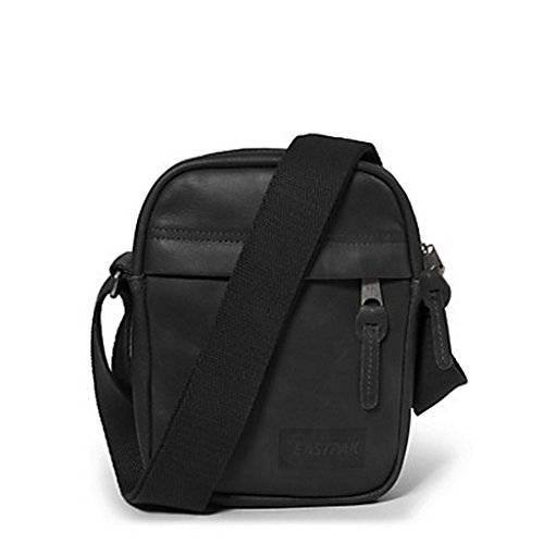 Eastpak Umhängetasche The One Pink (Sao Pink) EK04580H Black Ink Leather