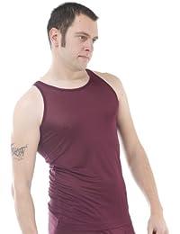 Silk vest tank top