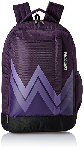 American Tourister 28 Ltrs Purple Casual Backpack (AMT Twist Backpack 02 – Purple)