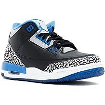 Nike Air Jordan 3 Retro BG Zapatillas de Deporte, Niños